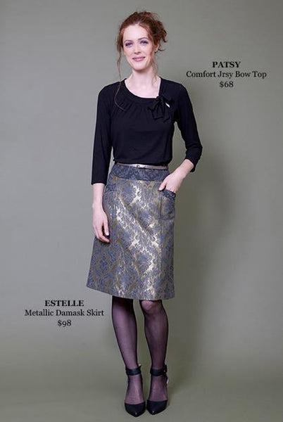 ESTELLE Metallic Skirt