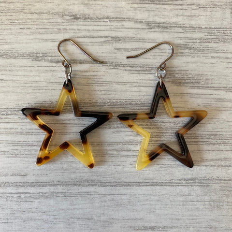 TS - Cellulose Star Earrings