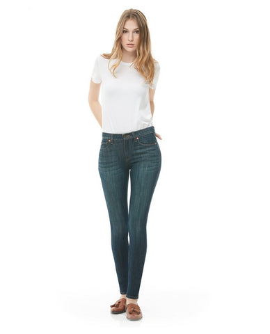 Yoga Jeans - Rachel Feathered Blue