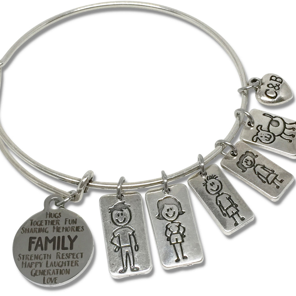 Build Your Own Family Bangle (Limited Edition) - Charms & Bangles - 1