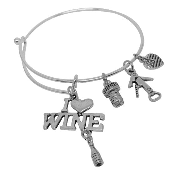 shop bracelet silver charms charm com shopping coolil cart