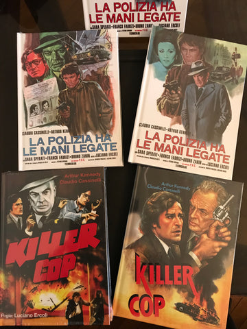 Cover Variation A-D of La Polizia ha le mani legate aka Killer Cop