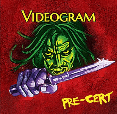 "VIDEOGRAM ""Pre-Cert"" CD [LP Style Wallet] (Cine 14) - Cineploit Records & Discs  - 1"