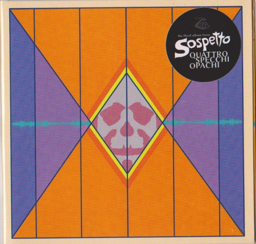 "SOSPETTO ""Quattro Specchi Opachi"" CD (Cine 13) - Cineploit Records & Discs  - 3"