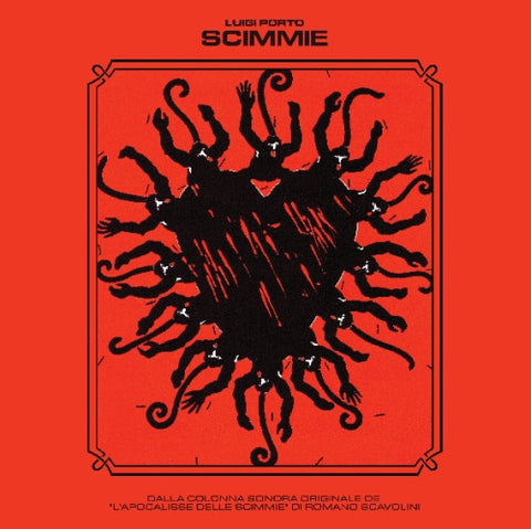 "LUIGI PORTO ""Scimmie"" LP/CD Set (Cine 10)"
