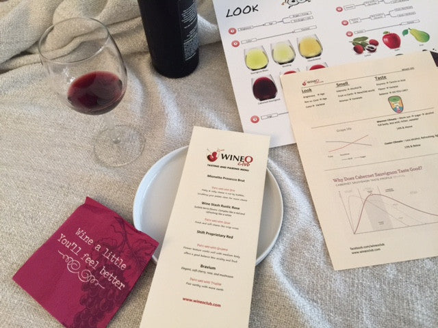 WineO 101 - July 14th @ 6:30pm (11 seats)