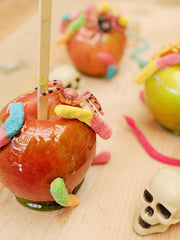 Creepy Candy Apples