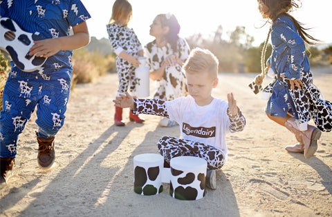 The Rocky Road Cow Print