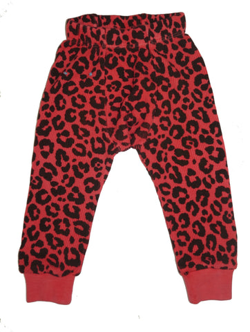 Leopard Thermal Pant- Red - Ice Cream Castles