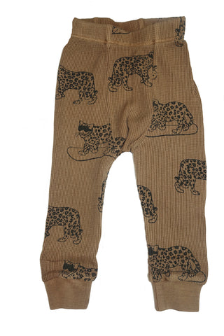 Snow Leopard Thermal Pant- Camel - Ice Cream Castles