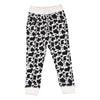 Cow Print Joggers in White - Ice Cream Castles