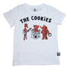 The Cookies Band Tee in White - Ice Cream Castles Kids