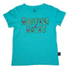 Monster Malts Graphic Tee in Teal - Ice Cream Castles Kids