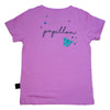 Unicorn Papillon Graphic Tee in Orchid - Ice Cream Castles Kids