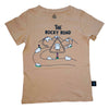 Rocky Road Graphic Tee in Hazelnut - Ice Cream Castles Kids