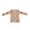Monster Truck Long Sleeve Tee in Hazelnut - Ice Cream Castles Kids