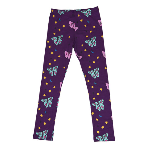 Papillon Leggings in Grape - Ice Cream Castles