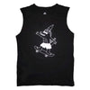 Alligator Skater Sleeveless Tee in Black - Ice Cream Castles Kids