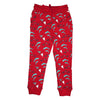 Race Car Dolphin Repeat Print Jogger in Red - Ice Cream Castles