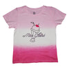 Mon Cheri Tie Dye Short Sleeve Tee in Hot Pink - Ice Cream Castles Kids