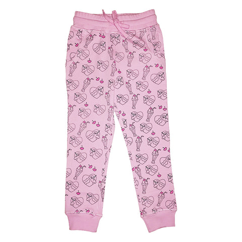 Neon Unicorn Repeat Print Jogger in Tutu - Ice Cream Castles Kids