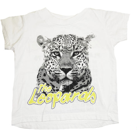 The Leopard's Tour Concert Tee- White - Ice Cream Castles