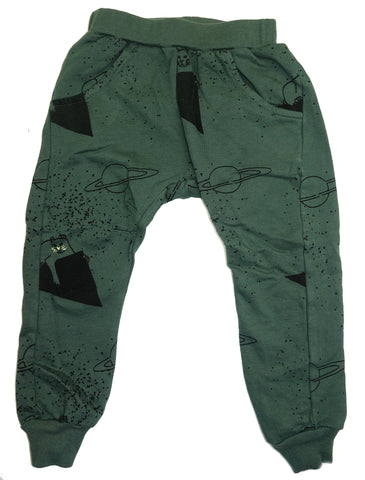 Lion Print French Terry Pants