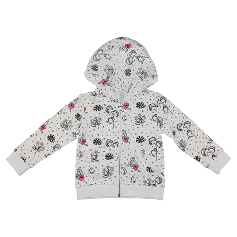 Garden Fairy Hoodie- White - Ice Cream Castles