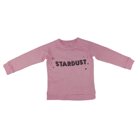 Stardust Graphic Pullover- Pink - Ice Cream Castles Kids