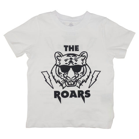 The Roars Graphic Tee- White