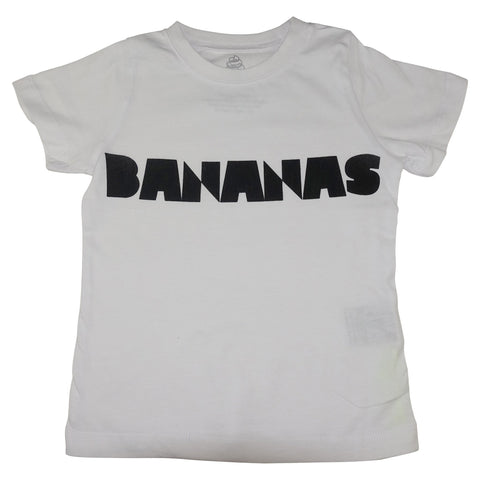 Bananas Graphic Tee- White - Ice Cream Castles