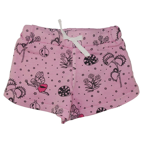 Garden Fairy Mini Shorts- Pink