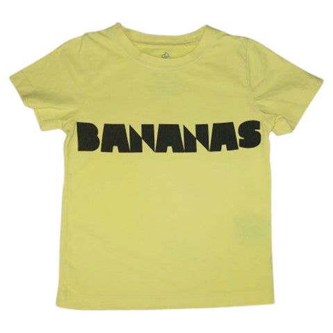 Bananas Graphic Tee- Yellow