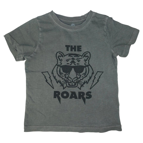 The Roars Graphic Tee- Gray