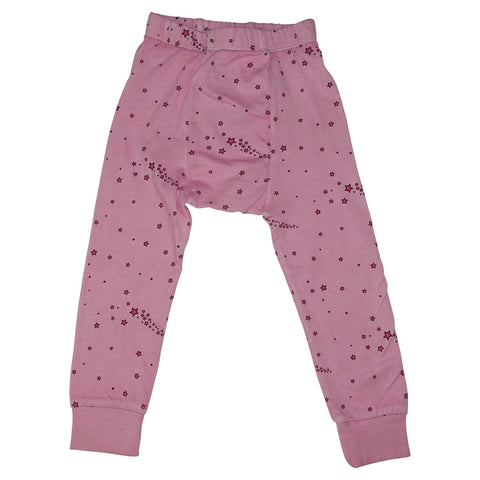 Star Print Leggings- Pink