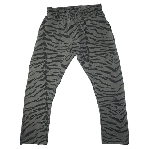 Tiger Stripe Harem Pant- Gray - Ice Cream Castles Kids
