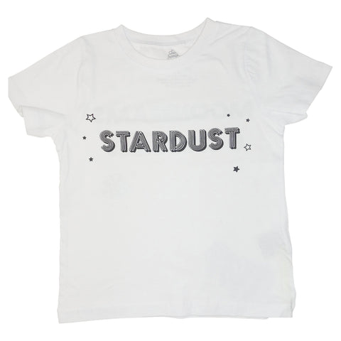 Stardust Graphic Tee- White - Ice Cream Castles Kids