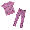 Flamingo Repeat Print Legging in Lilac - Ice Cream Castles Kids