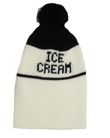 Ice Cream Beanie- Black - Ice Cream Castles