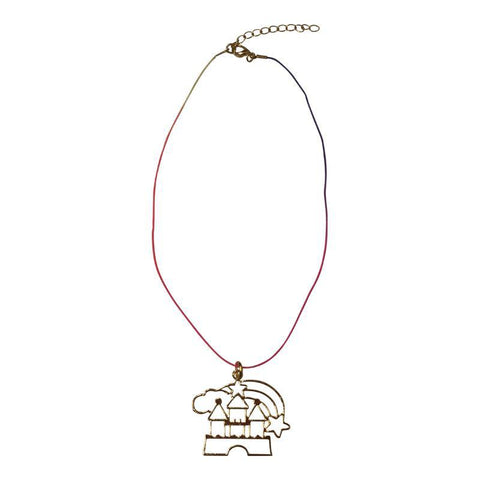 Castle String Necklace - Ice Cream Castles Kids
