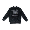 Velour Cloud City Track Jacket- Black - Ice Cream Castles