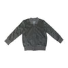 Velour Cloud City Track Jacket- Gray - Ice Cream Castles Kids