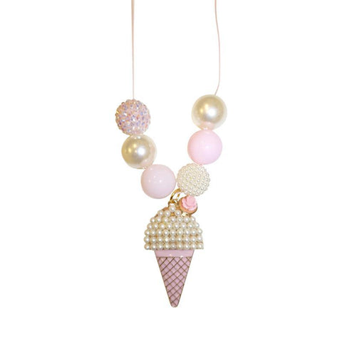 Ice Cream Pearl Necklace - Ice Cream Castles Kids
