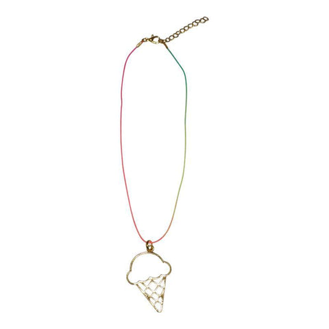 Ice Cream String Necklace - Ice Cream Castles