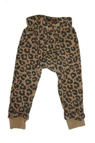 Leopard Thermal Pant- Camel - Ice Cream Castles