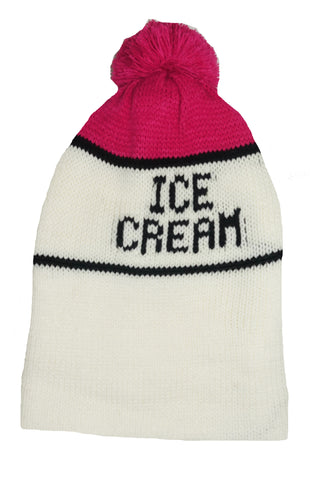 Ice Cream Beanie- Pink - Ice Cream Castles