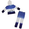 Tie Dye Race Car Dolphin Zip Hoodie in Electric - Ice Cream Castles Kids