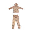 Monster Truck Joggers in Hazelnut - Ice Cream Castles Kids