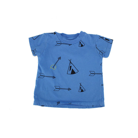 Tee Pee & Arrow Print Tee- Lake - Ice Cream Castles