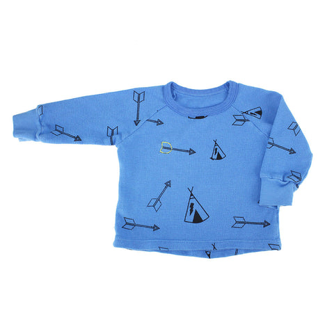 Tee Pee & Arrow Print  Thermal
